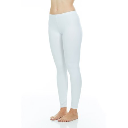 Purple Print Pant Set - Thermajane Womens Thermal Pants Bottoms (White, S)