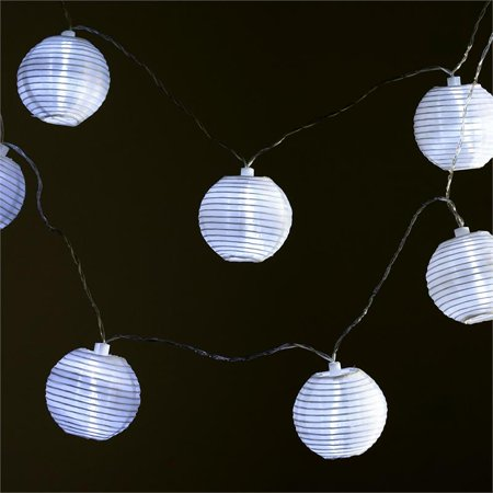 Wedding Lantern Centerpieces (BalsaCircle 11 ft White LED Lights with 3