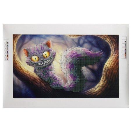 5D Diamond Embroidery Cat Diamond Painting Cross Stitch Kits Home Decor 22.8x15.4 inch Canvas+Resin Diamond - image 1 de 8