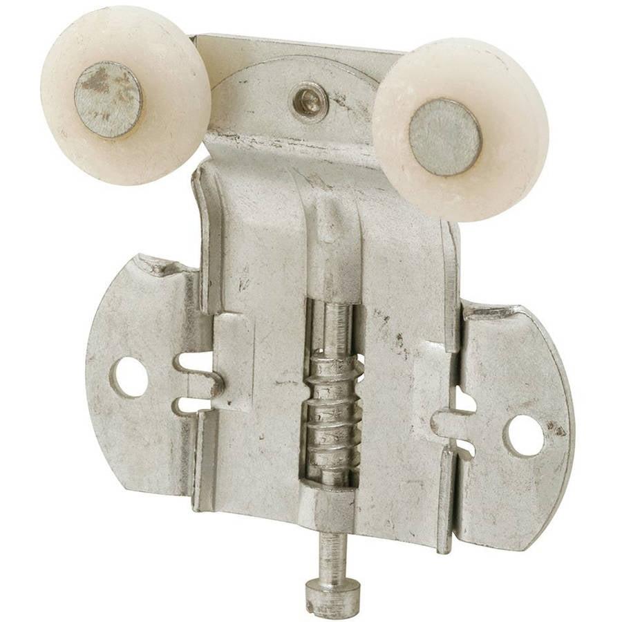 Prime-Line Products N 6522 Closet Door Tandem Roller, Front, 3/8 Offset, 3/4 Plastic Convex Wheels,(Pack of 2)