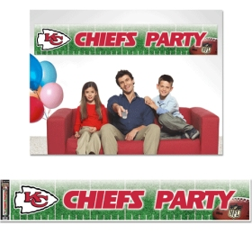 Kansas City Chiefs Party Banner by Wincraft, Inc.