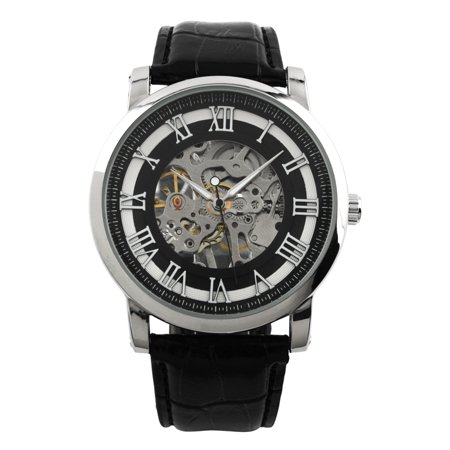 Man Hand-Wind Up Mens Watch Mechanical Vintage Gold Skeleton Steampunk New Hand Wind Watch Series