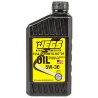 JEGS 28062 Full Synthetic Motor Oil 5W30 Single Quart