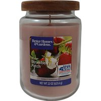 Better Homes & Gardens 22 oz Sunlit Strawberry Patch Single-Wick Candle