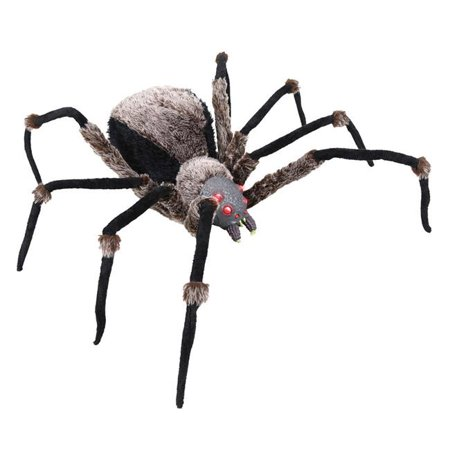 Homemade Halloween Decorations Ideas For Outside (36in. Deluxe Lightup Spider Halloween)