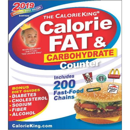 CalorieKing 2019 Calorie, Fat & Carbohydrate (Best Wearable Calorie Counter)