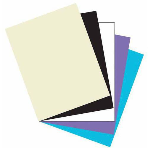 "Array Heavy Weight Card Stock, 65 lb, 8.5"" x 11"", Multiple Colors, 101pk"