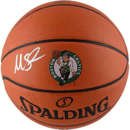 Marcus Smart Boston Celtics Autographed Spalding Logo Basketball - Fanatics Authentic