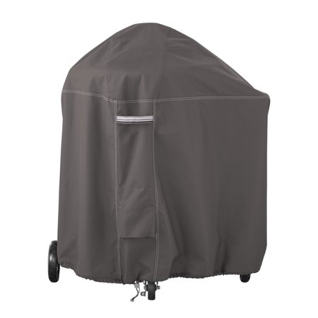 Classic Accessories Ravenna Water-Resistant 40 Inch BBQ Grill Cover for Weber Summit