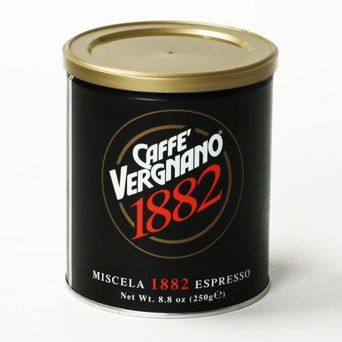 Caffe Vergnano 1882 Premium Blend Ground Espresso by