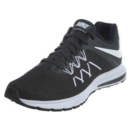 nike men s zoom winflo 3 black white anthracite running shoe 10 men ... f4916cfa5862