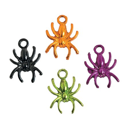 IN-13744011 Halloween Spider Charms Per - Rituale Per Halloween