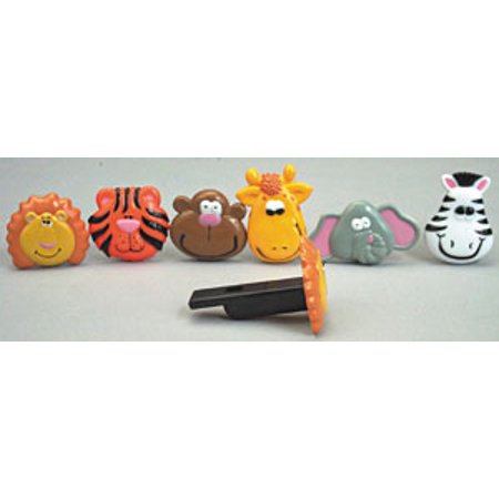 12 pk Zoo Animal Whistles Assorted Cake Adornments (2 inch)](Animal Jam Cake)