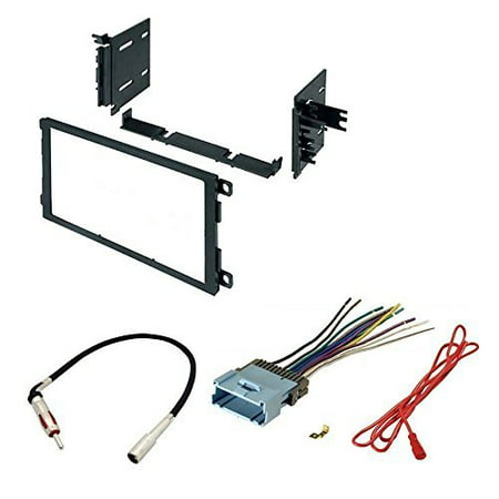 chevrolet 2000 - 2005 venture - integrated door chimes only car radio stereo cd player dash install mounting kit harness