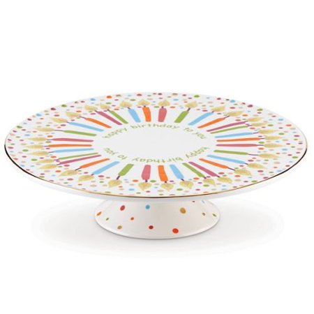 Lenox Musical Birthday Cake Plate Plays Happy