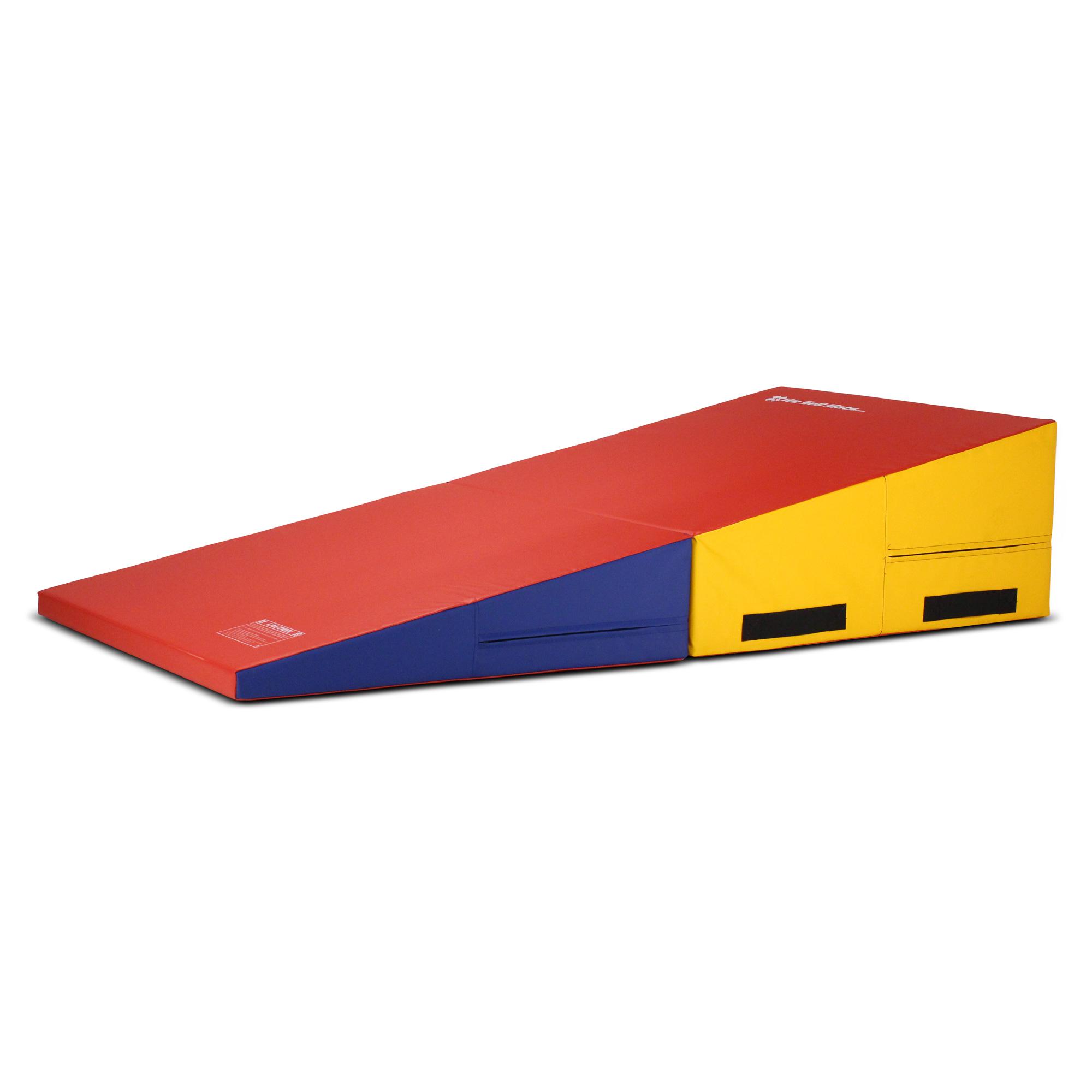 We Sell Mats Folding Gymnastics Incline Mat, Large, Multi...