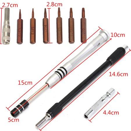 60 in 1 S2 Tool Steel Precision Screwdriver Nutdriver Bit Repair Tools Kit  - image 6 of 7
