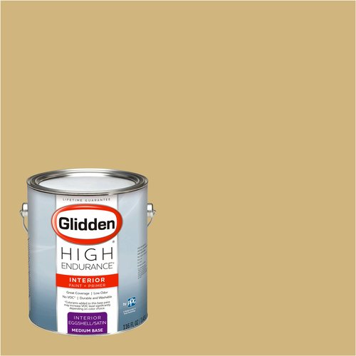Glidden High Endurance, Interior Paint and Primer, Wild Honey, #30YY 46/304