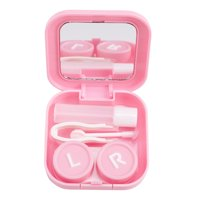 Men's Glasses Reasonable Mini Mirror Contact Lens Travel Kit Easy Carry Case Storage Holder Container Box To Ensure Smooth Transmission Eyewear Accessories