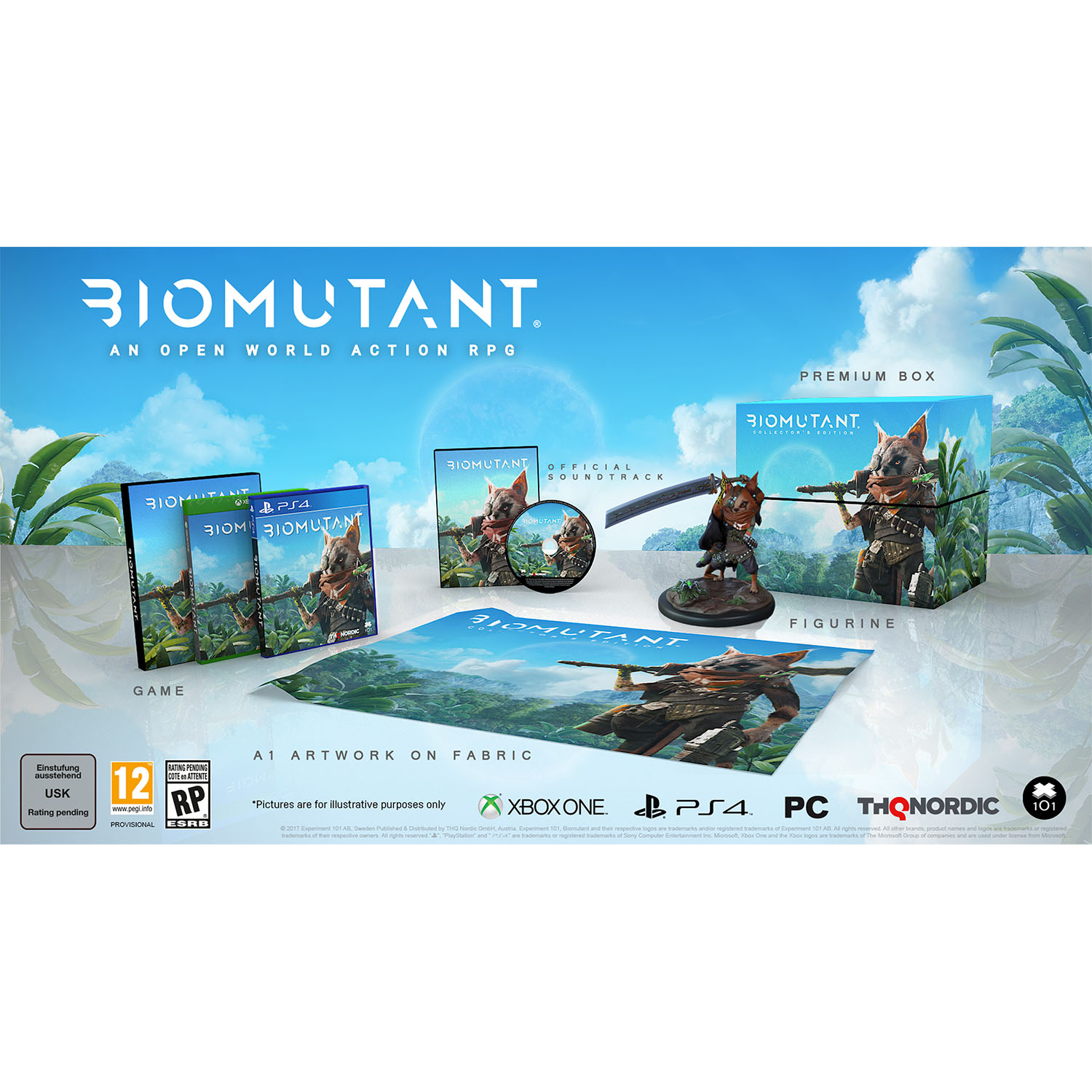 Biomutant Collectors Edition, THQ-Nordic, Xbox One, 811994021243 ONLINE