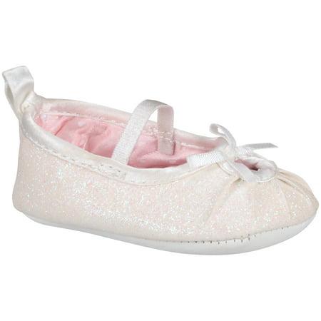 Newborn Baby Girl Mary Jane Flat Shoes