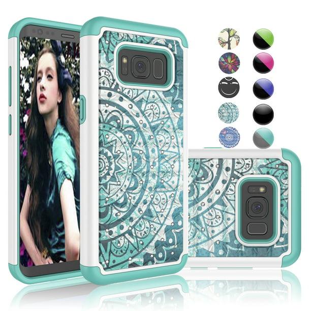 Samsung S8 Case Galaxy S8 Cute Case Datura Mnit Njjex Retro