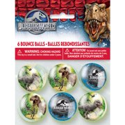 Jurassic World Bouncy Ball Party Favors, 6ct