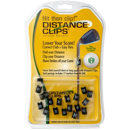 Distance Clips Yardage Markers For Golf Clubs