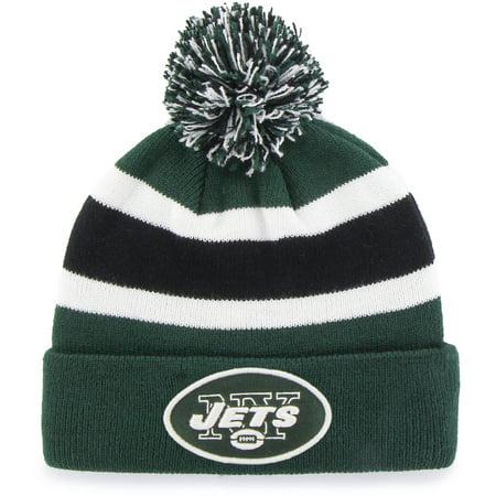 NFL New York Jets Breakaway Beanie with Pom / Hat - Fan Favorite