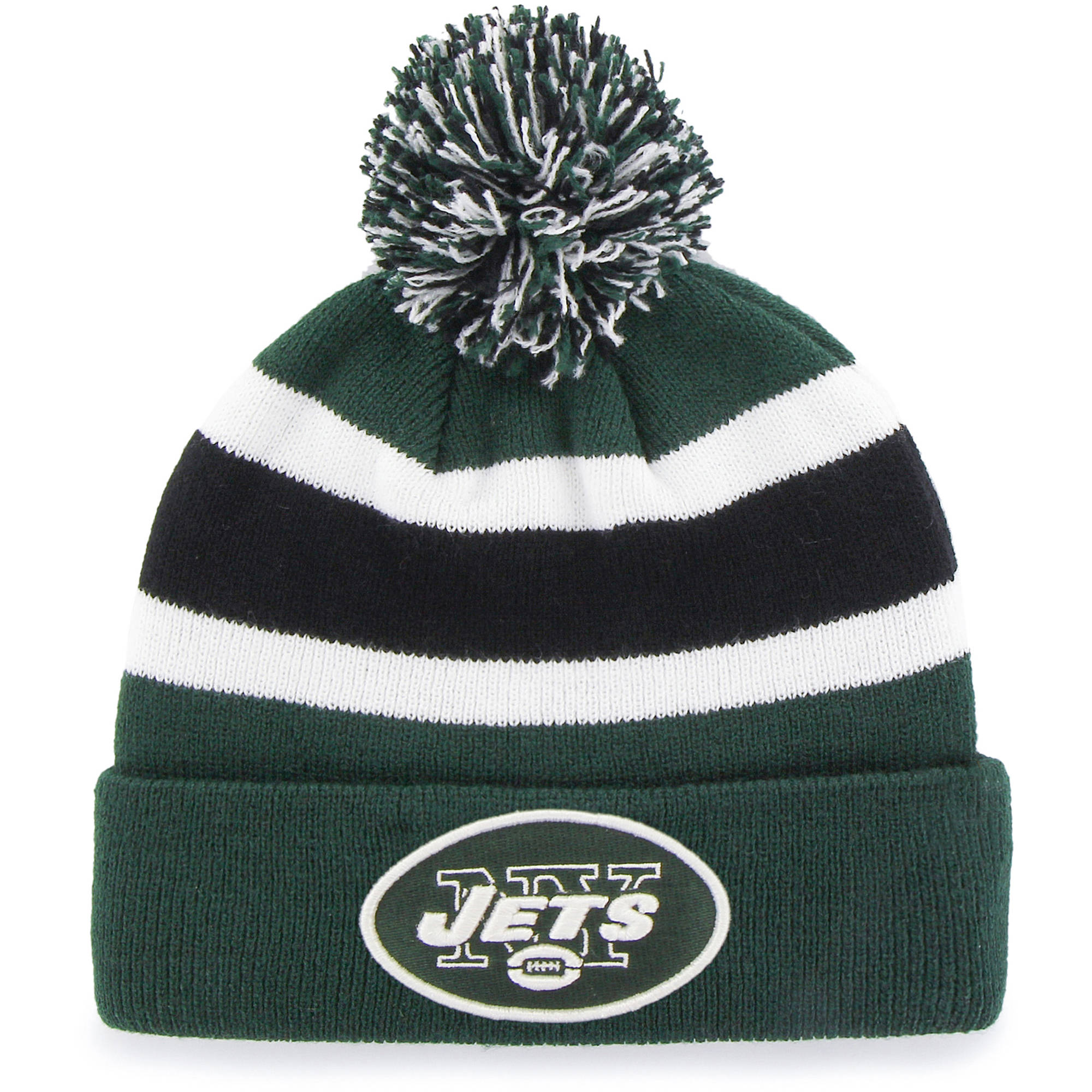 NFL New York Jets Breakaway Knit Beanie with Pom by Fan Favorite