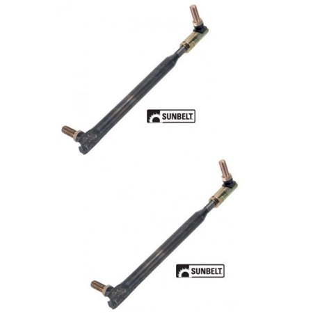 (2) TIE ROD & BALL JOINT ASSEMBLIES for Toro / Wheel Horse 78-2900-01 by The ROP Shop