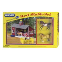 Breyer Stablemates Red Stable and Horse Set (1:32 Scale)