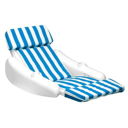 Swimline 10010 SunChaser Swimming Pool Padded Floating Luxury Chair Lounger