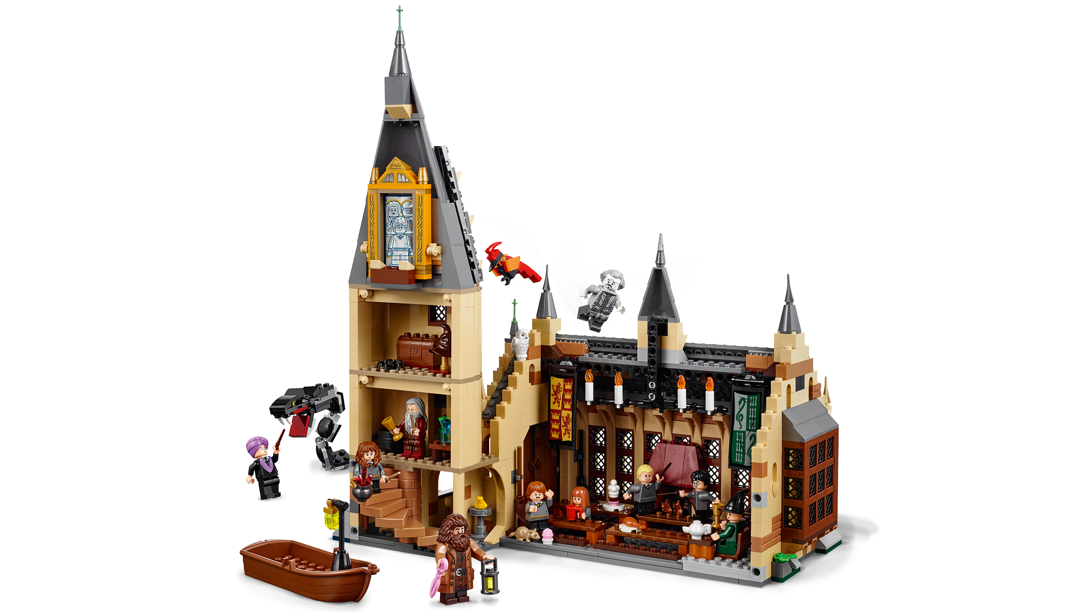 878 pieces LEGO Harry Potter Hogwarts Great Hall 75954 Building Kit