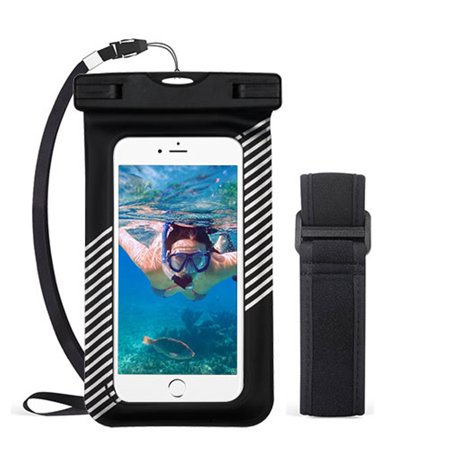 Black Girl Underwater (Valor Universal Underwater Waterproof Pouch Dry Bag Case w/Lanyard/Armband -)