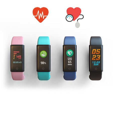 Spectrum OLED Colorful Smart Fit Watch With Live HR And BP Monitor (Fit Hr)