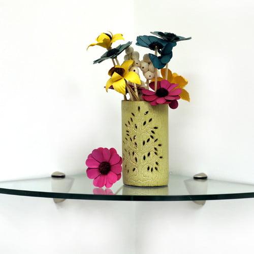 Spancraft Glass Floating Glass Shelves Wall Shelf