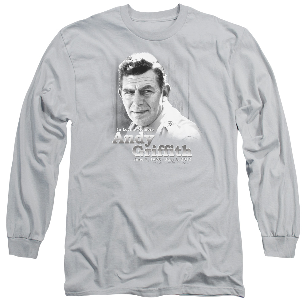 The Andy Griffith Show In Loving Memory Mens Long Sleeve Shirt
