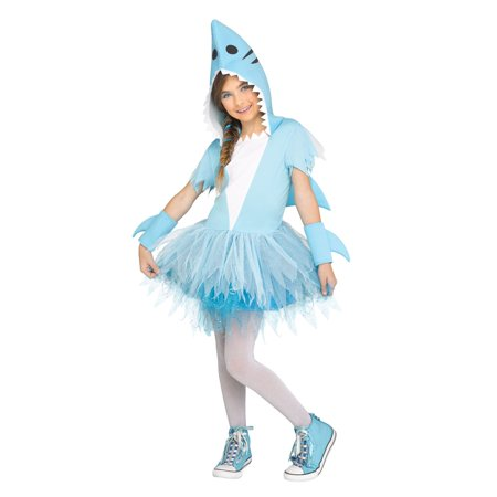 Shark Tutu Girl's Costume - Shark Eating Person Costume