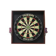 Triumph Sports Deluxe Backboard Combo Unit Dartboard- XSDP -18-2005 - This Deluxe Backboard Combo Unit is the perfect addition to any dart lover's arcade room. Its 18 target size puts players at