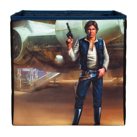 Star Wars Han Solo illustrative Collapsible Storage Bin | Licensed Storage | Everything Mary