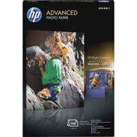 HP Inkjet Print Photo Paper, Glossy, 100 / Pack (Quantity)