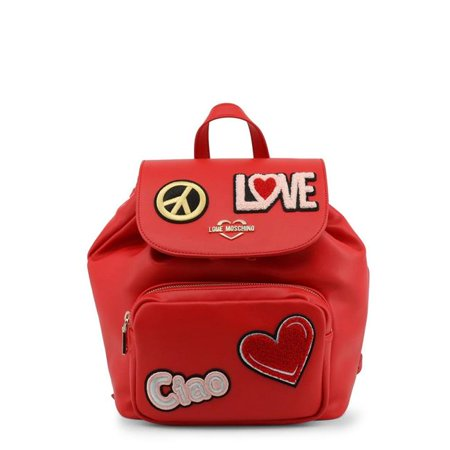 Love Moschino JC4082PP17LJ-0500-Red-NOSIZE Spring & Summer Womens Rucksack, Red - image 1 of 1