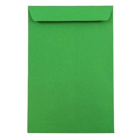 JAM Paper Open End Catalog Envelopes - 6 x 9 - Brite Hue Christmas Green Recycled - 10/pack](Christmas Catalog Request)