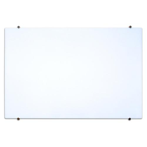 Luxor  Wall-Mounted Magnetic Glass Marker Board (34x48-in...