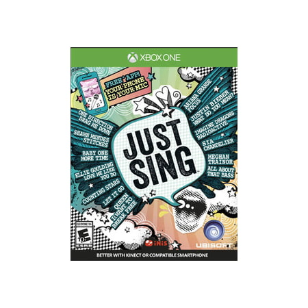 Just Sing, Ubisoft, Xbox One, 887256020767
