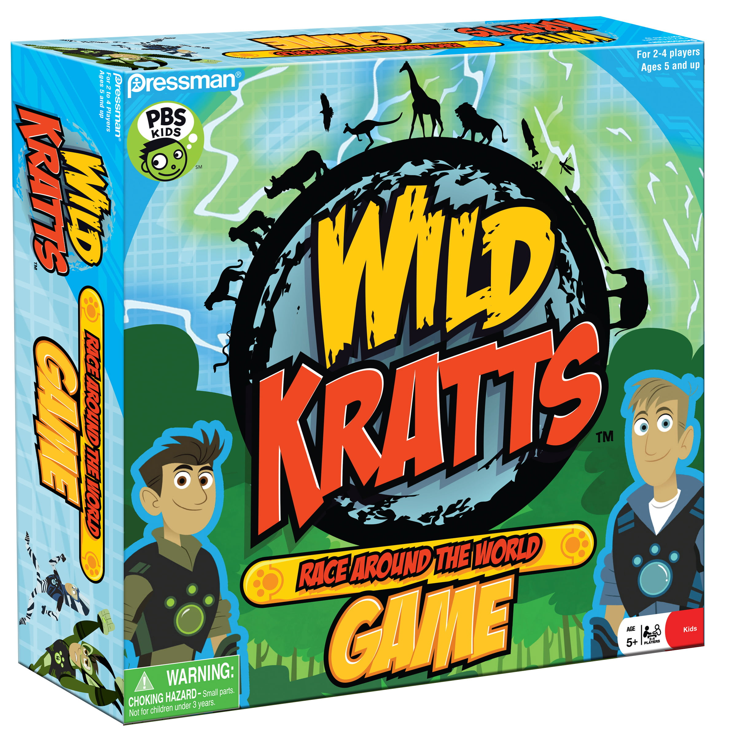 Pressman Toy Wild Kratts Race Around the World Game - Walmart.com