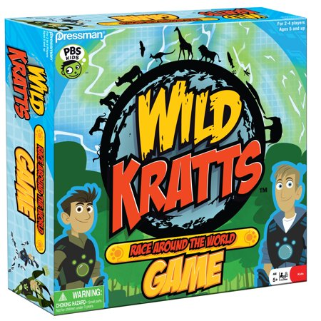 Halloween Relay Races Game (Pressman Toy Wild Kratts Race Around the World)