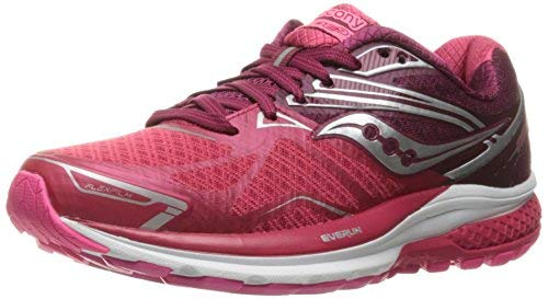 Saucony Women's Ride 9 Running Shoe, Pink Berry, 10.5 M US by