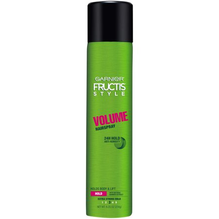 Garnier Fructis Style Volume Anti-Humidity Hairspray, Extra Strong Hold, 8.25 oz. - Brown Halloween Hair Spray